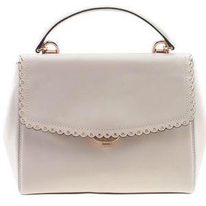 Michael Kors Pink Ava Scalloped leather bag